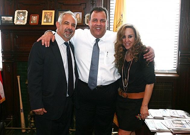 Dennis and Judi with Gov Christie