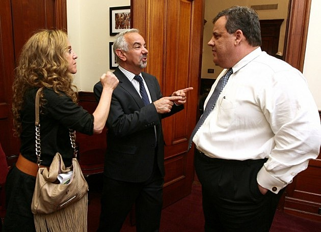 Caption this photo of Dennis, Judi and Gov Christie