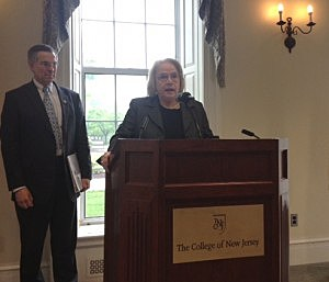 Dr. Barbara Gitenstein, President of The College Of New Jersey