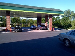 Quick Chek gas station in Lawrenceville