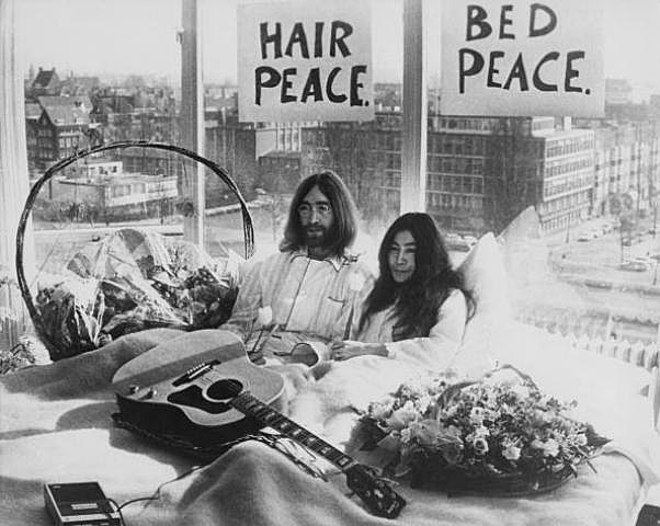 John Lennon And Yoko Ono Bed In This Day In Music Hist...
