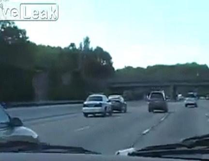 Trooper Pulls over Left Lane Dick