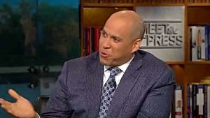 Cory Booker on Meet the Press