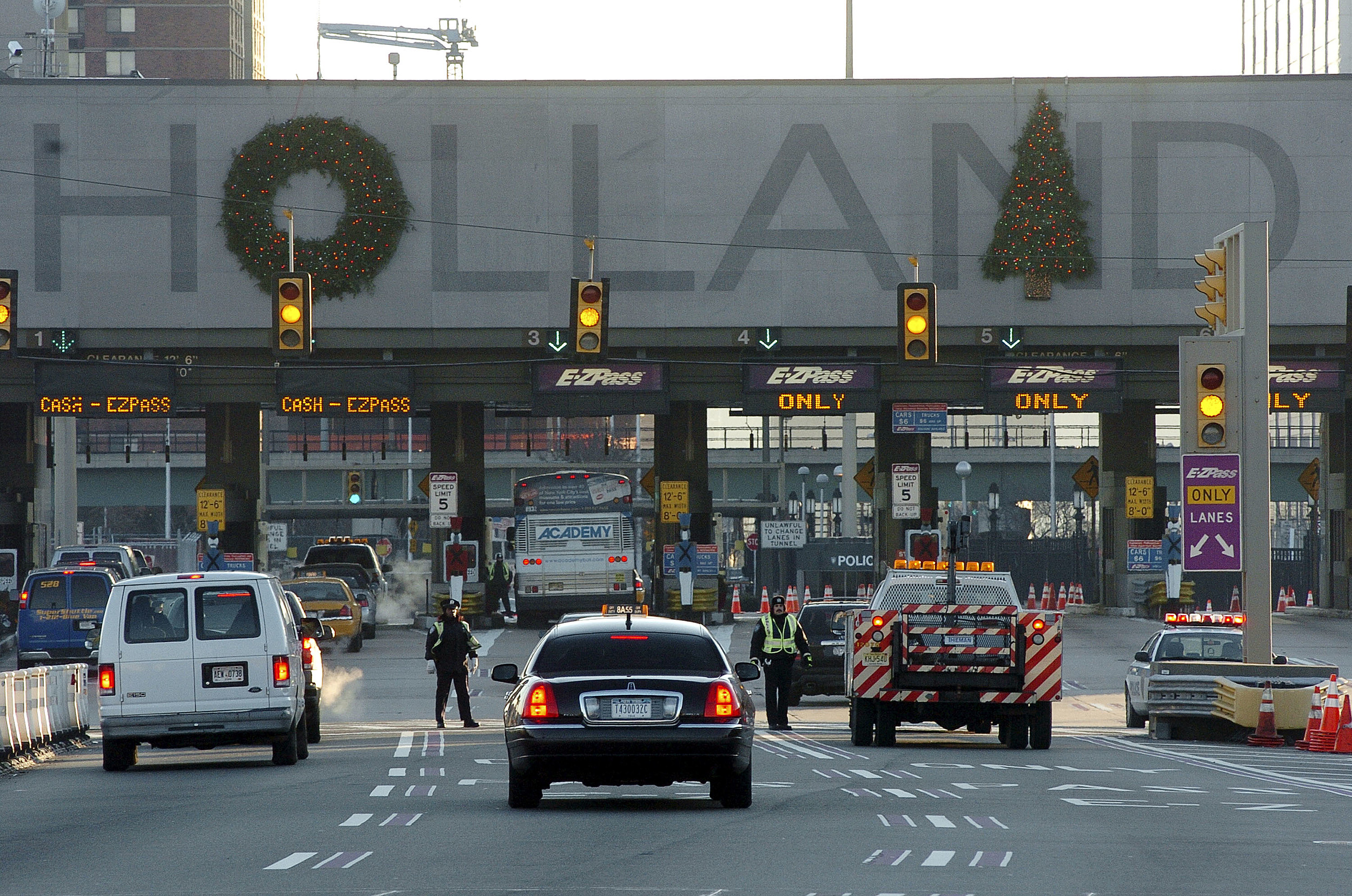Image Gallery Holland Tunnel Toll