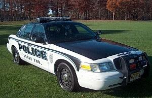 Lacey Police patrol car
