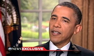 President Obama on ABC comes out in support of gay marriage