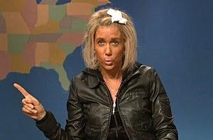 Kristen Wiig as Patricia Krentcil on Saturday Night Live