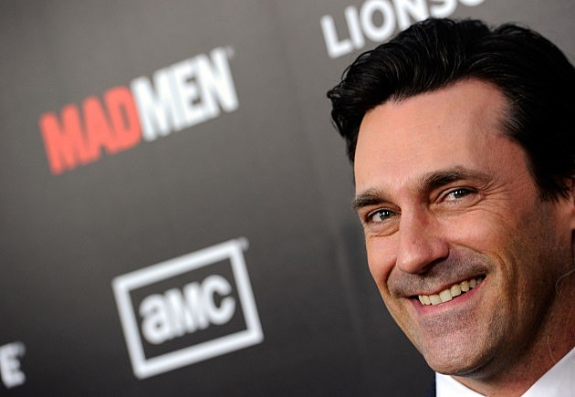 Jon Hamm as the character Don Draper in Mad Men