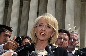 Arizona Governor Jan Brewer