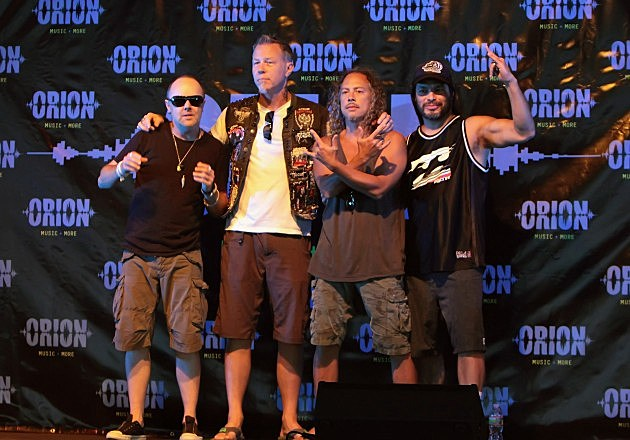 2012 Orion Music with Metallica in Atlantic City at Bader Field
