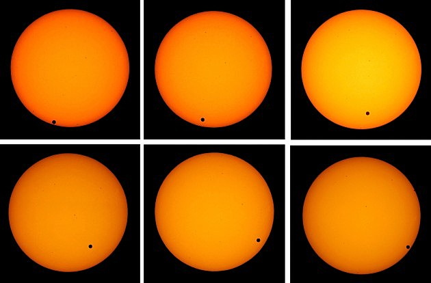 Watch Transit Of Venus Across The Sun