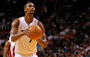 Miami Heat's Chris Bosh