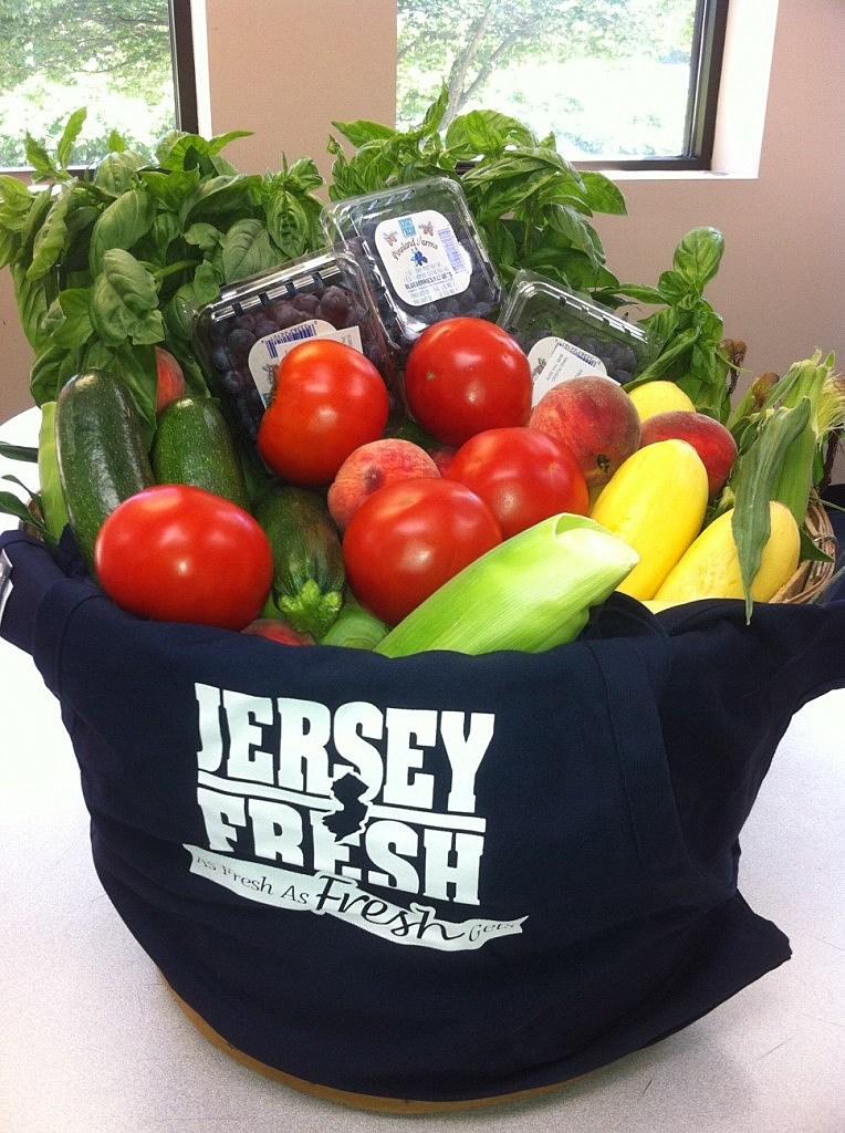 Basket of Jersey Fresh Produce at NJ101.5