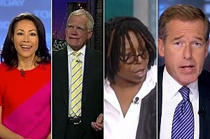 Ann Curry - David Letterman - Whoopi Goldberg - Brian Williams