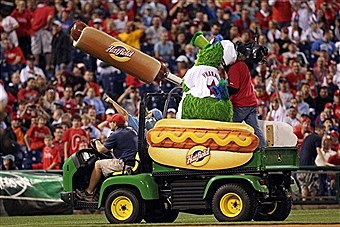 Is the Philly Phanatic in trouble again?