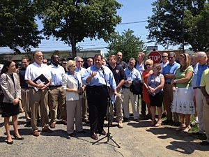 Governor Christie holds a press conference