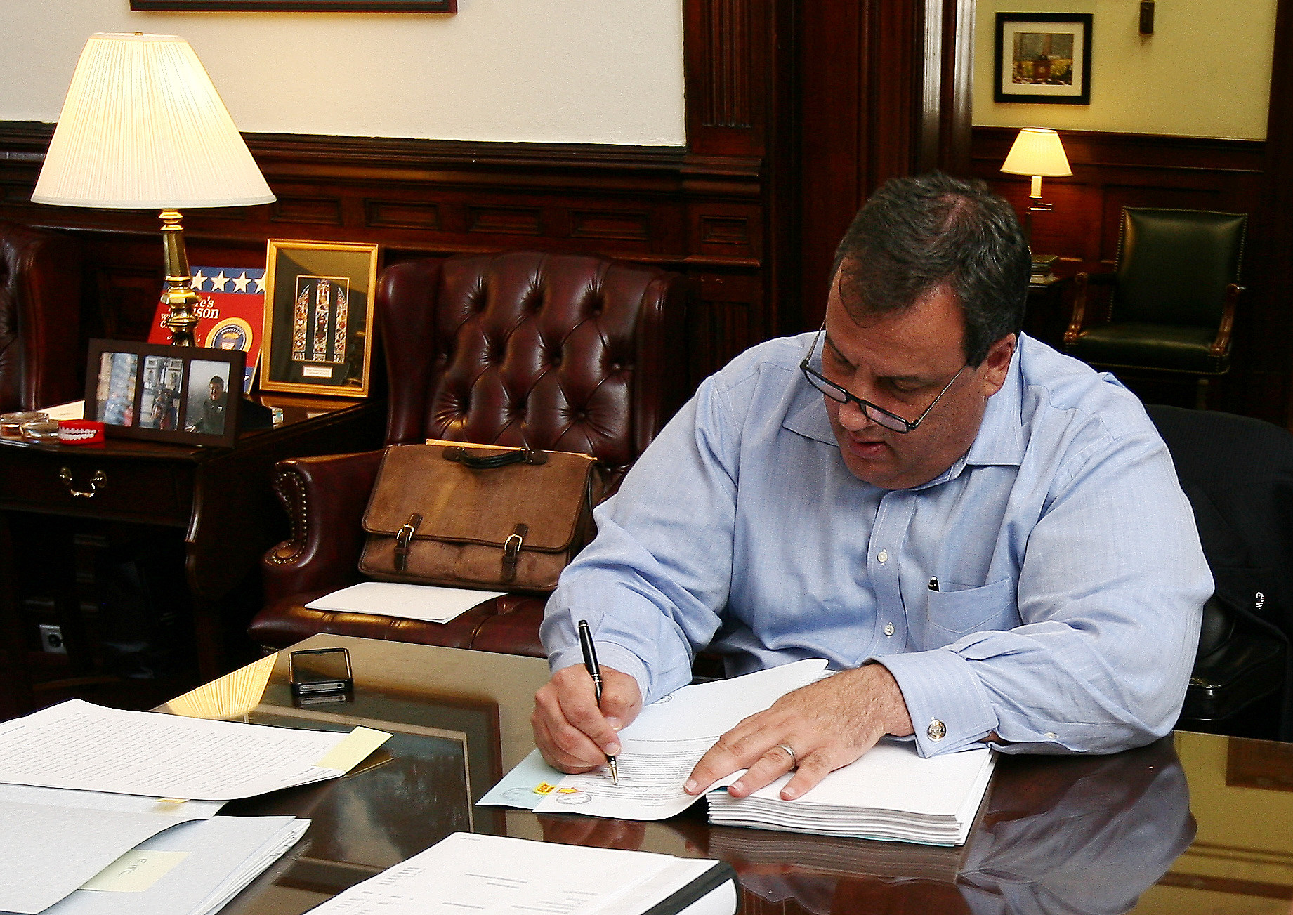 Chris Christie Signs $31 7 Billion State Bud