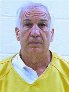 Jerry Sandusky booking photo