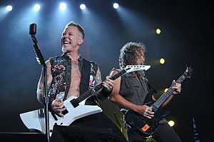 Metallica plays at Orion Music + More Festival