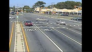 NJ's Red Light Camera Programs on Hold. Red light camera intersection in Brick