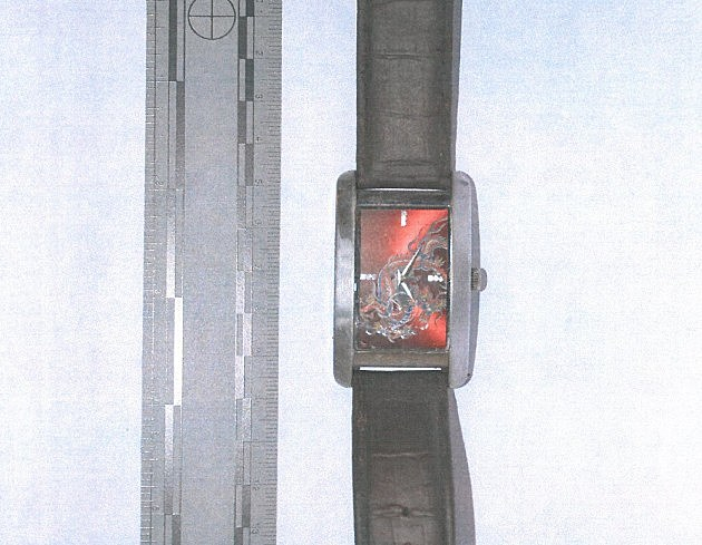 A designer watch found with a man's remains in Hamilton (State Police)