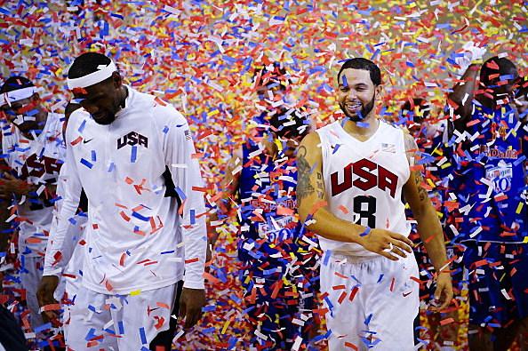 USA v Spain - Men's Exhibition Game