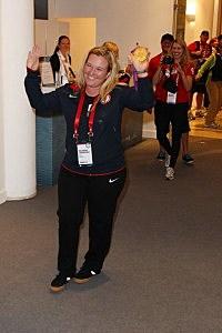 U.S. Olympic gold medalist Kimberly Rhode