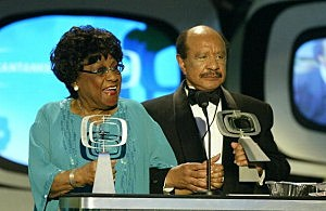 Isabel Sanford & Sherman Hemsley