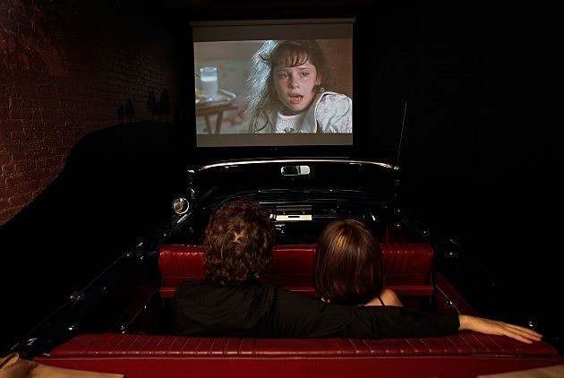 Moviegoers Experience 1950s At Drive-In Theater
