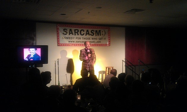 Sherman Hemsley's last New Jersey comedy show