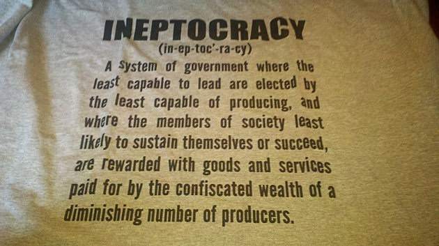 Ineptocracy T Shirt
