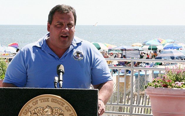 Governor Christie appears in Ocean City
