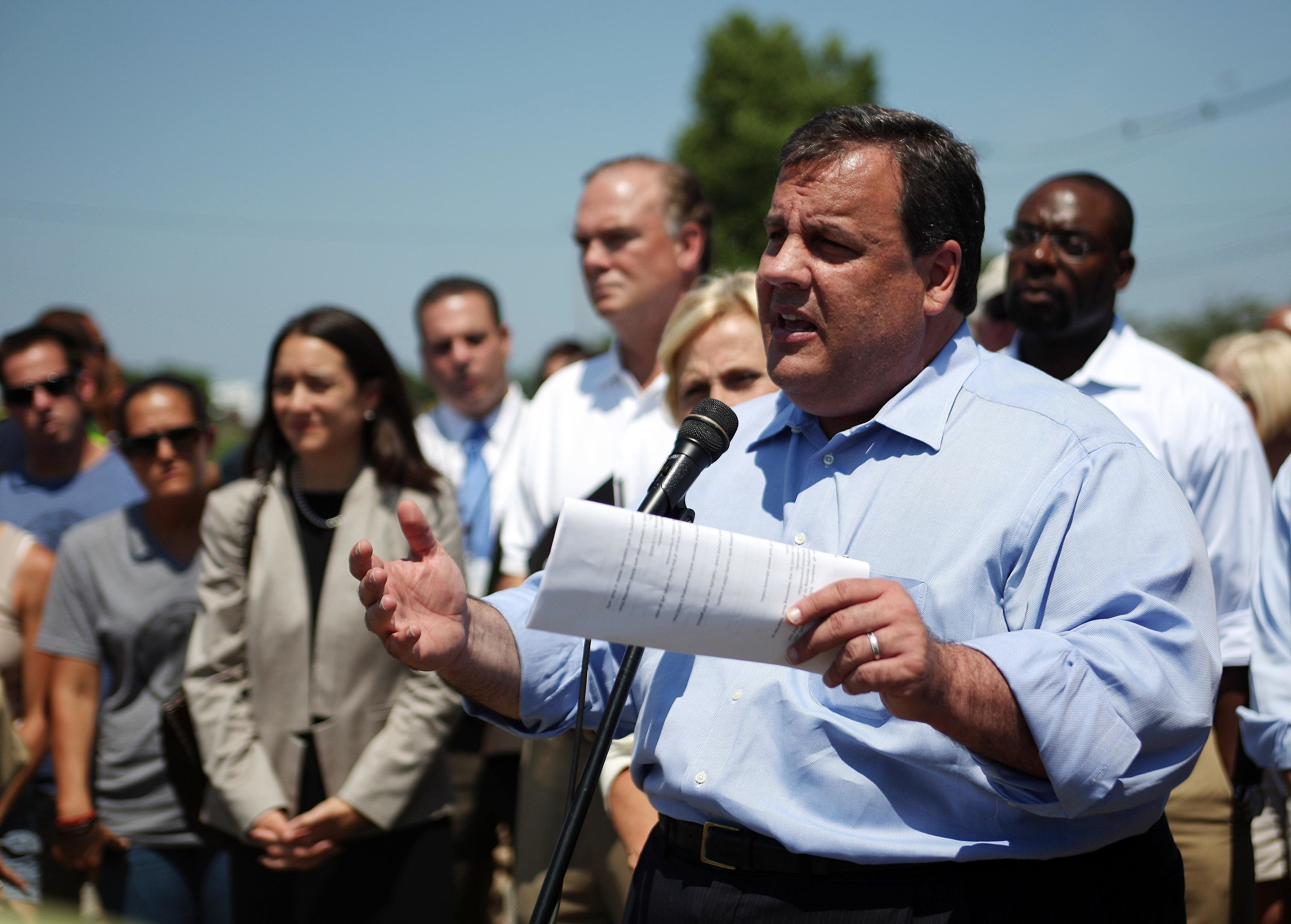 Christie's Temper Caught On Tape On Jersey Shore