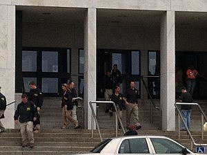 FBI agents leave Trenton City Hall
