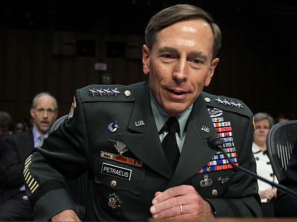U.S. Gen. David Petraeus