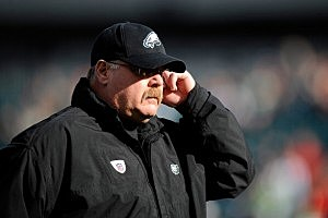 Head coach Andy Reid of the Philadelphia Eagles