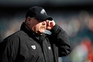 Head coach Andy Reid of the Philadelphia Eagles