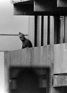 One of the Black September guerrillas who broke into the Munich Olympic Village, killed two members of the Israeli team and took nine others hostage.