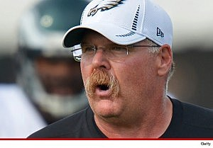 Philadelphia Eagles head coach Andy Reid (Getty Images)