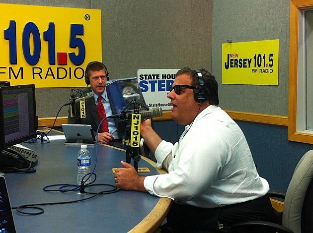 Governor Chris Christie and Eric Scott