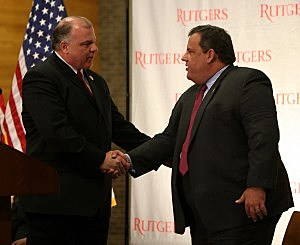 Governor Christie and Senate President Sweeney