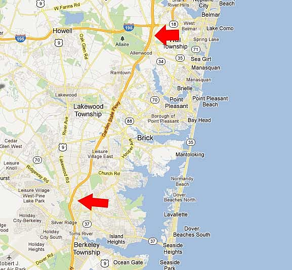 Garden State Parkway widening project