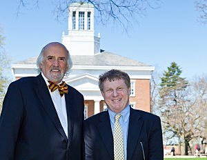 Study authors Ron Nief, Emeritus Director of Public Affairs at Beloit College and Tom McBride, Keefer Professor of the Humanities at Beloit College (Belroit)