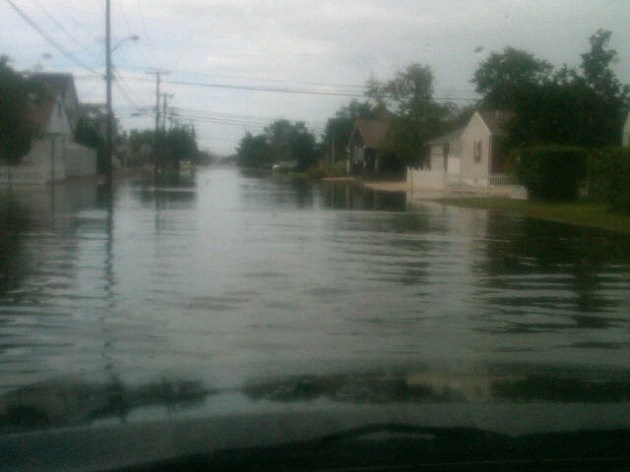 Flooding in Toms River