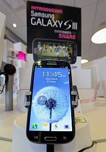 Samsung Galaxy SIII Android mobile phone