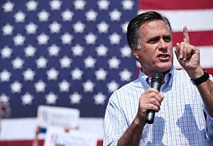 Mitt Romney campaigns in Virginia