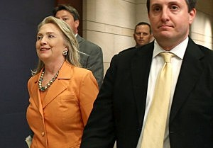 Secretary of State Hillary Clinton arrives at the U.S. Capitol to attend a closed door briefing for members of Congress