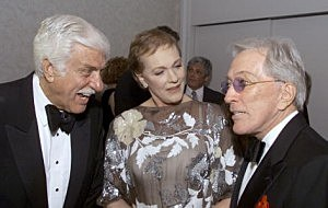 Dick Van Dyke, Julie Andrews and Andy Williams