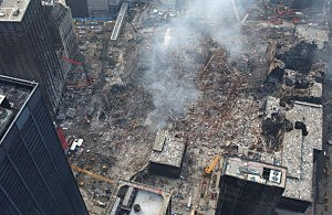 Aerial View of Ground Zero