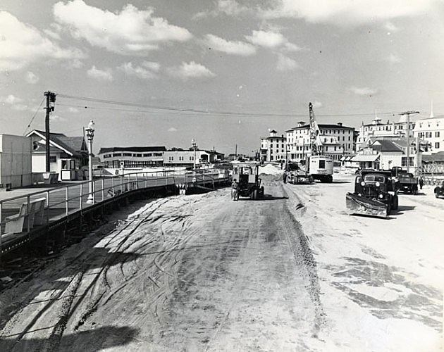 Cape May City after the Great Atlantic Hurricane of 1944, Photo Credit NJ State Archives via Dept. of Transportation Collection